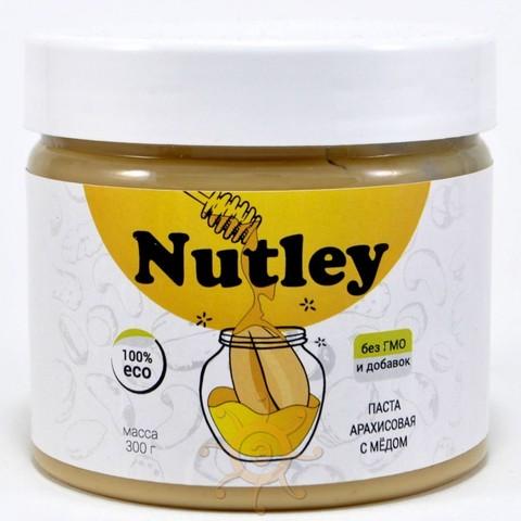 Паста арахисовая с мёдом Nutley, 300гр.
