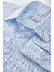 Рубашка прямого силуэта для школьника