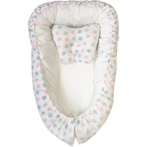 Папитто. Кокон и подушка-бабочка для сна, белый вид 1