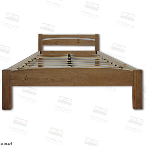 Кровать Шале Ренессанс  цвет дуб