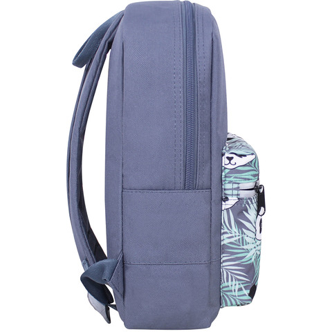 Рюкзак Bagland Молодежный mini 8 л. серый 764 (0050866)