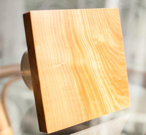 Вентилятор накладной сверхтонкий MMotors JSC MMP-90 Дерево/Натуральный Ясень