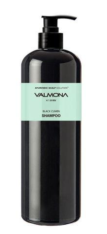 Шампунь для волос АЮРВЕДА Ayurvedic Scalp Solution Black Cumin Shampoo, 480 мл VALMONA
