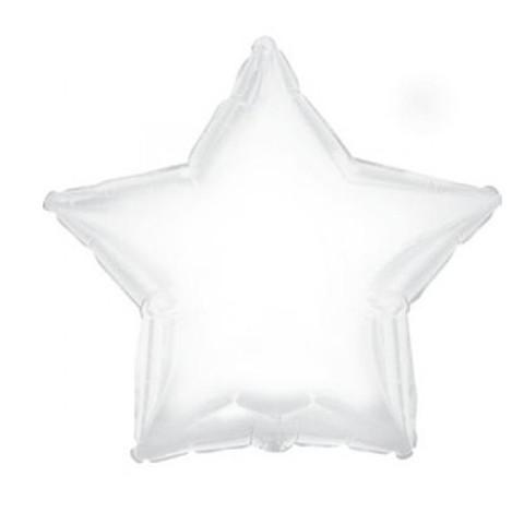 Звезда из фольги белая, Пастель (46 см)