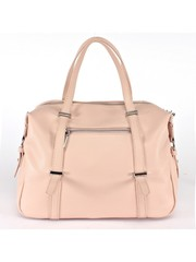 Розовая сумка из искуственной кожи