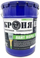 Броня Лайт Норд НГ 20л зимняя теплоизоляционная шпатлевка