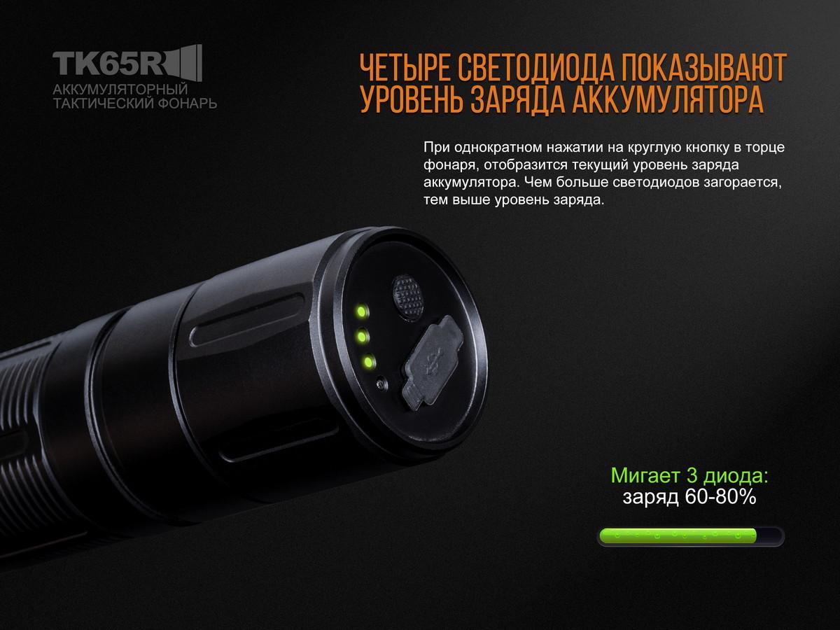 Фонарь Fenix TK65R Cree XHP70 LED - фотография
