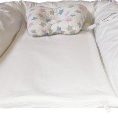 Папитто. Кокон и подушка-бабочка для сна, белый вид 3