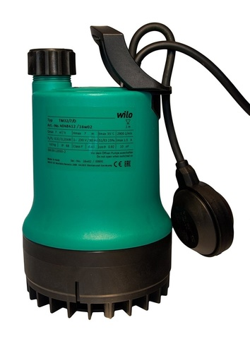 Дренажный насос Wilo Drain TM 32/8-10m