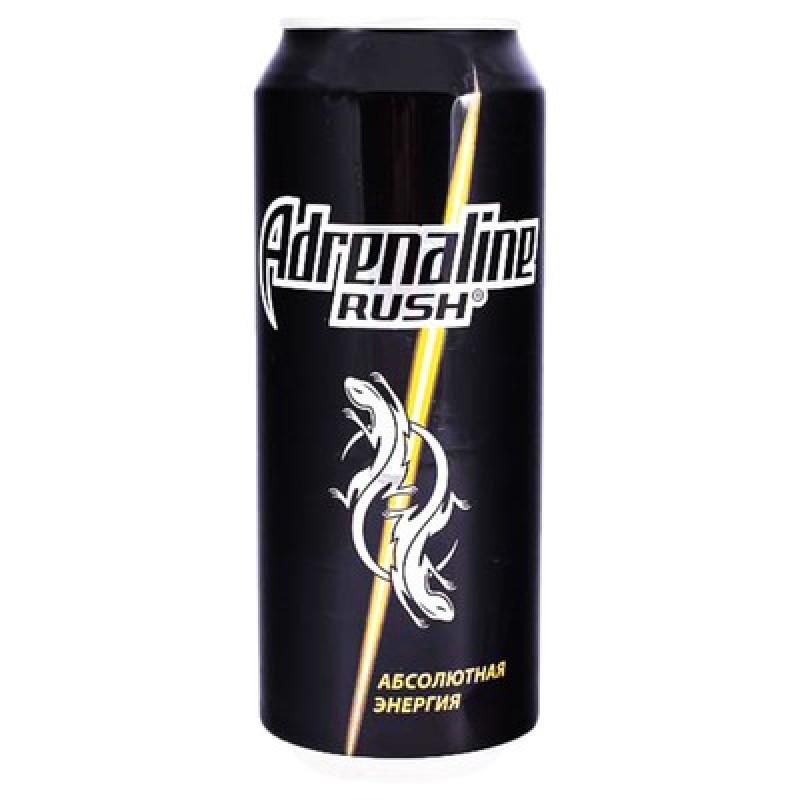 Энергетический напиток газ Адреналин Раш 0,5 л