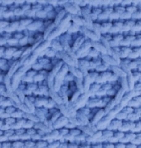 Пряжа Puffy Fine Alize 112 голубой, фото