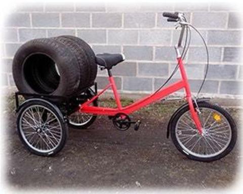 Триколісні велосипеди вантажопідйомністю до 200 кг