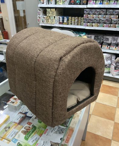 Домик-тоннель для кошек и собак мелких и миниатюрных пород