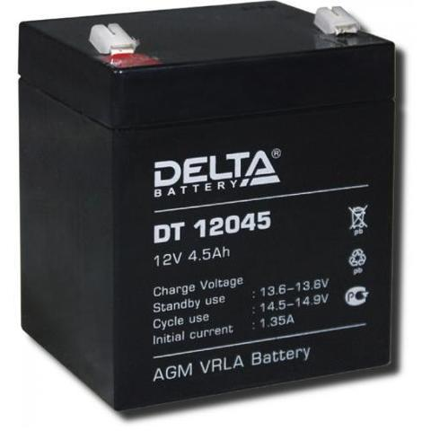 DT 12045 аккумулятор 12В/4,5Ач Delta