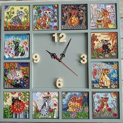 ЧМ01 комплект для часов (часовой механизм со стрелками).