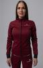 Элитный утеплённый лыжный костюм Nordski Pro Wine женский