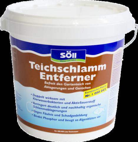 TeichschlammEntferner 25 кг - Средство для удаления ила в пруду