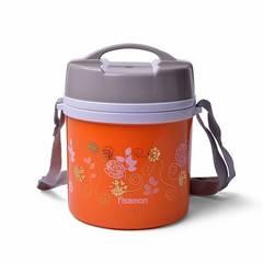7940 FISSMAN Для пищи термос 1400мл Оранжевый (нерж.сталь)