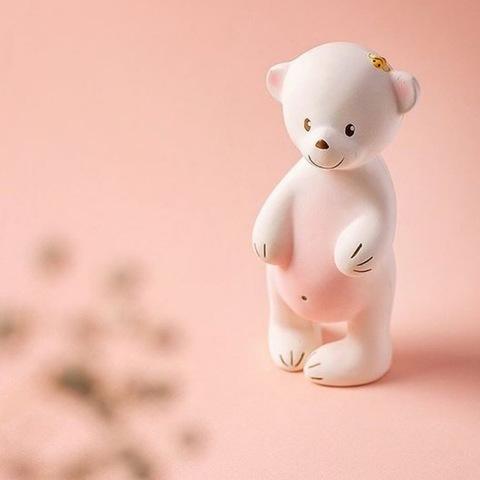 Мишка Sudu Игрушка-пищалка из натурального каучука