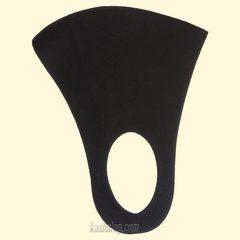 Чёрная многоразовая маска для лица