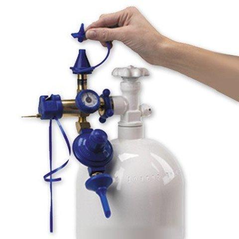 Газовое оборуд. с клапаном и редуктором