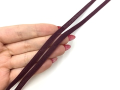 Резинка отделочная слива 6 мм (цв. 076)