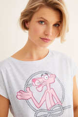 Довга піжама «Рожева пантера»