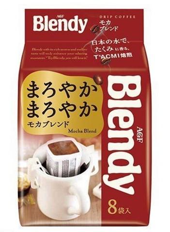 Кофе дрип-пакет AGF Blendy Mokka (красный) 7 гр х 8 шт