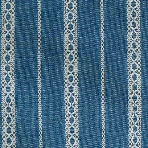 Ткань DE1 Denim Embroidery