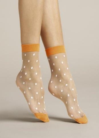 Узорчатые прозрачные женские носки 20 DEN FIORE 1078/G APAVERO