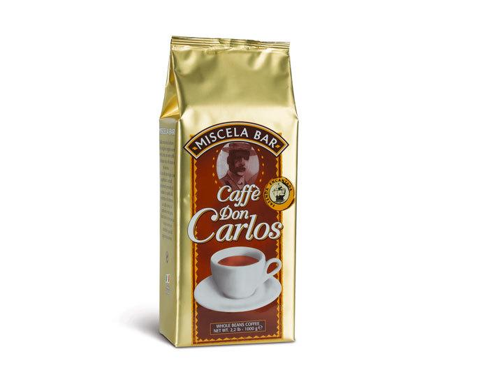 Кофе в зернах Carraro Don Carlos, 1 кг (Карраро)