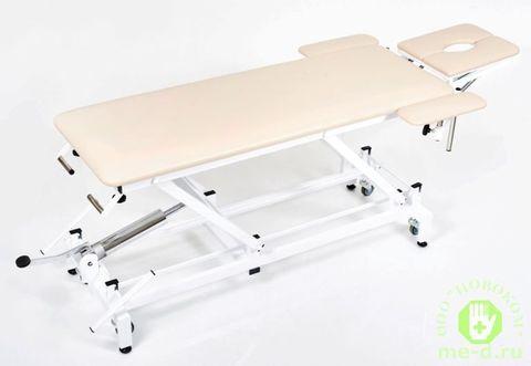Массажный стол на гидроприводе КСМ-041г с Регистрационным удостоверением
