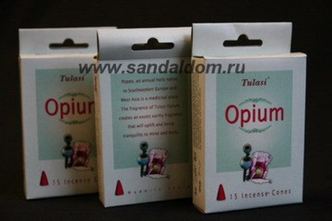 Благовония конусы Опиум
