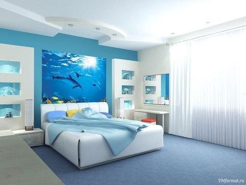 Дельфины 194x136 см, люкс