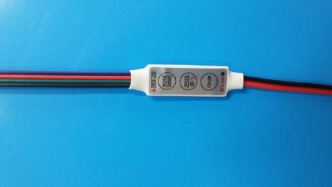 Контроллер RGB 12V. 72W. 6A на проводе