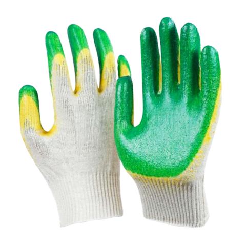 Перчатки хб с двойным латекс.покрытием