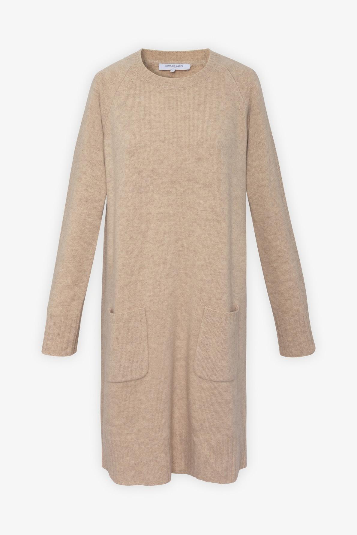 Tuline - Платье-свитер из шерсти и кашемира