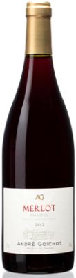 Вино Андре Гуашо Мерло красное сухое 0,75л