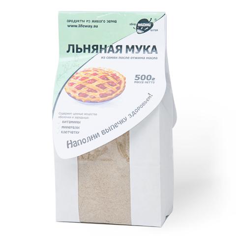 """Мука """"Образ жизни"""" льняная 500г"""