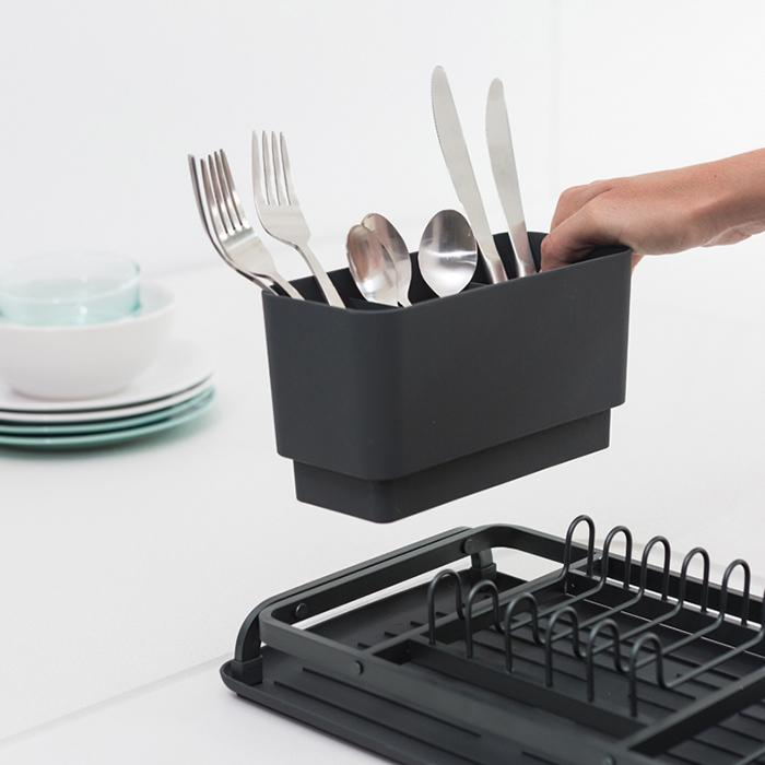 Компактная сушилка для посуды, Темно-серый, арт. 117268 - фото 1