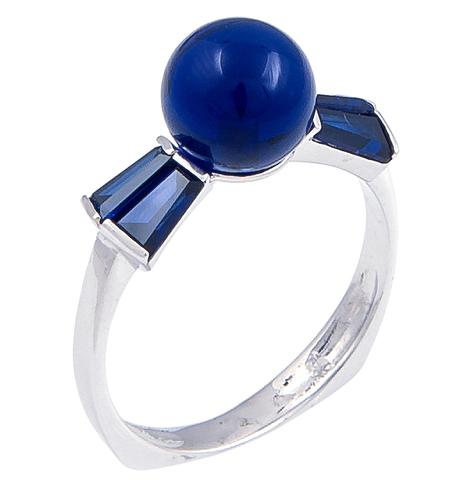 Кольцо с сапфиром Арт.1096кс