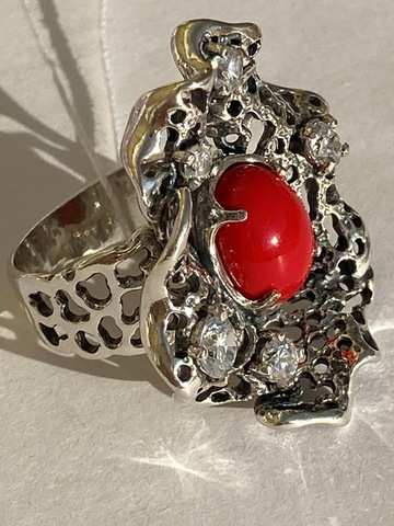 Мидия  (кольцо  из серебра)