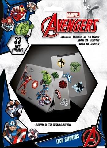 Набор tech-стикеров «Мстители»