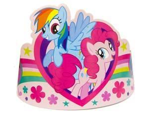 Тиара My Little Pony бум 8шт