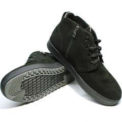 Мужские зимние ботинки на толстой подошве Ikoc 1617-1 WBN.