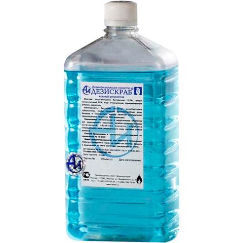 Дезискраб голубой 1 л