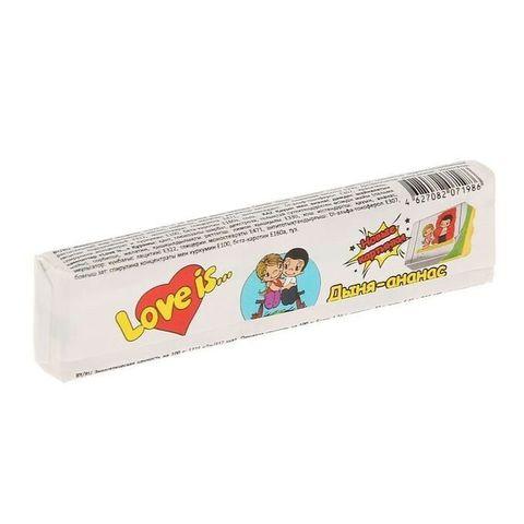 Жевательная конфета LOVE IS со вкусом Дыня-ананас 25 г