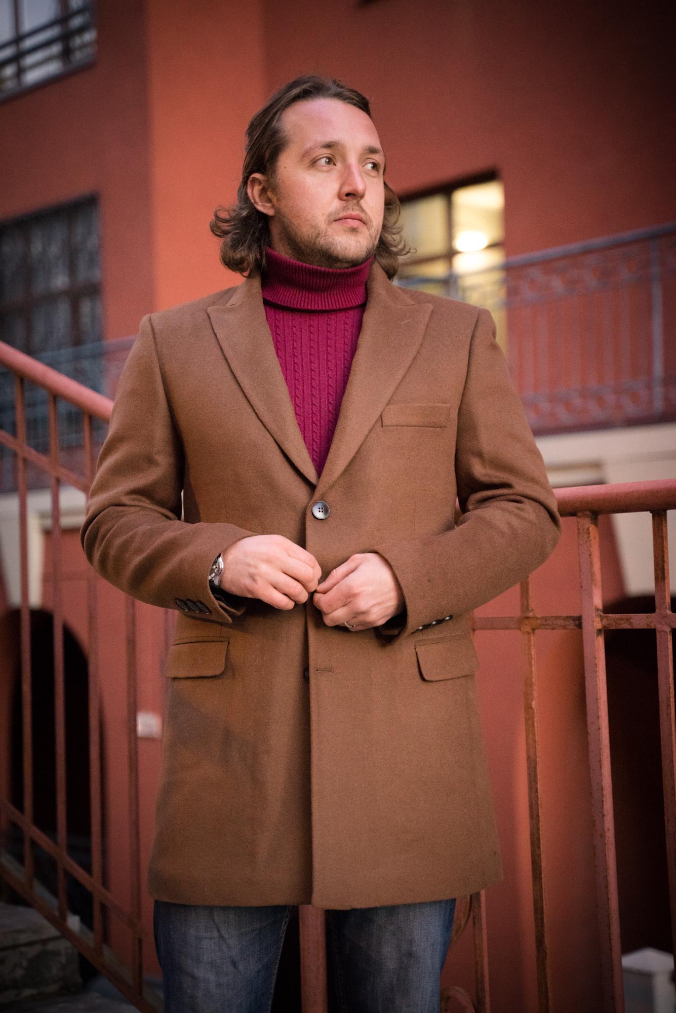 Пальто мужское оптом Пальто мужское Slim Fit 11/132 DSC09575.JPG