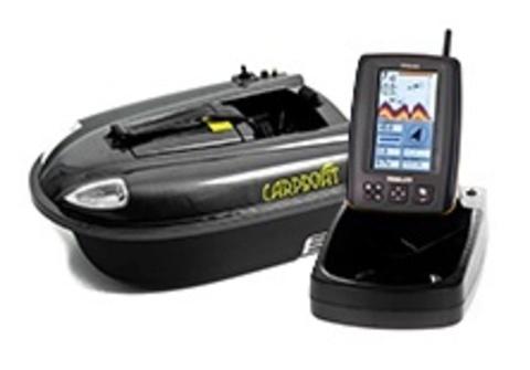 Кораблик Carpboat mini carbon + Эхолот TF640