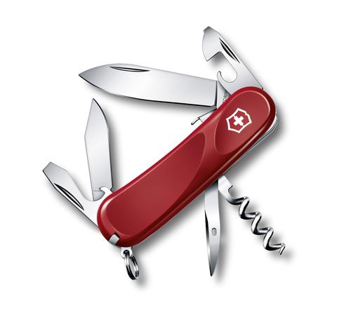 Уценка! Нож Victorinox Evolution S111, 85 мм, 12 функций, красный
